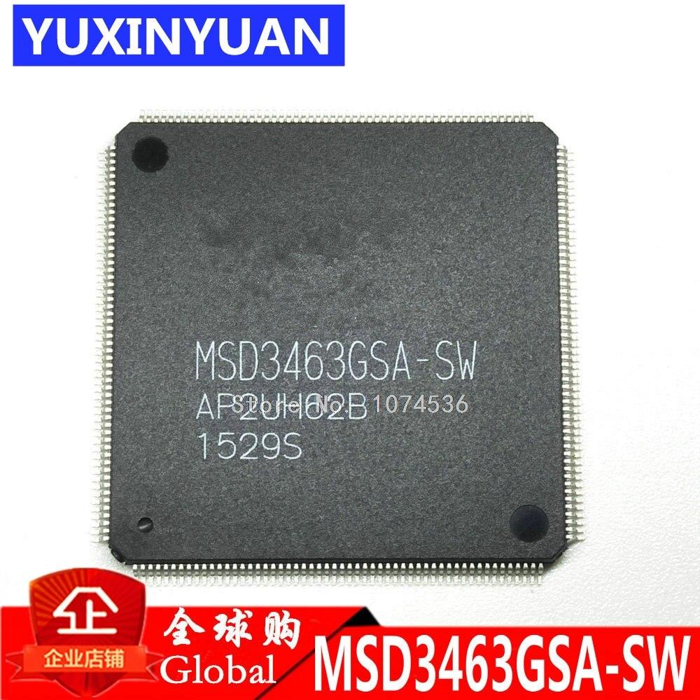 MSD3463GSA-SW MSD3463GSA MSD3463G MSD3463 QFP New original authentic integrated circuit IC LCD chip electronic 1PCS