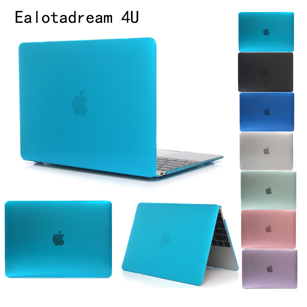 Solid For Macbook Pro 13 A1278 15 A1286 Laptop Case Crystal Transparent Hard PVC For Mac ...