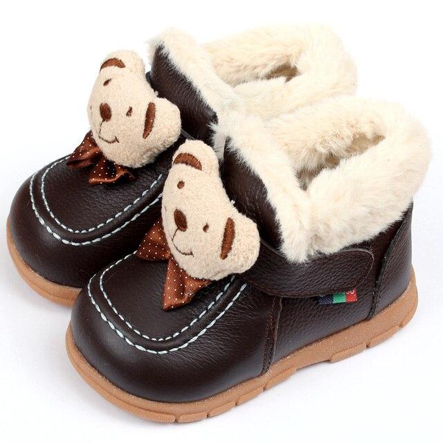 ботинки для девочки зима Детские зимние сапоги мальчик снегоступы марка новорожденный детские ботинки для девушка-детская обувь детская малыш обувь первые ходунки мокасины детские сапоги зимние
