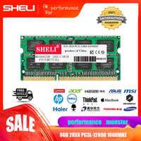 SHELI 8GB 16GB PC3L-12800S CL11 DDR3-1600 MHz RAM 1.35v 204pin Laptop Sodimm Memory Module