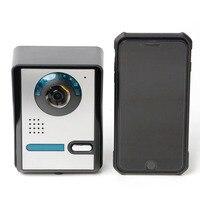 WIFI Digital Video Door Intercom System Wireless IP Doorbell Night Vision Waterproof 720P Door Intercom Camera Unlock Remote