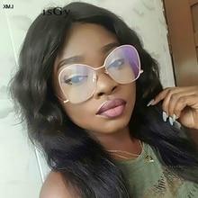 New Hot Frame Classic Clear Glasses Gold Vintage Sunglass Women Men Optical UV400 Aviation eyeglass Transparent 2019
