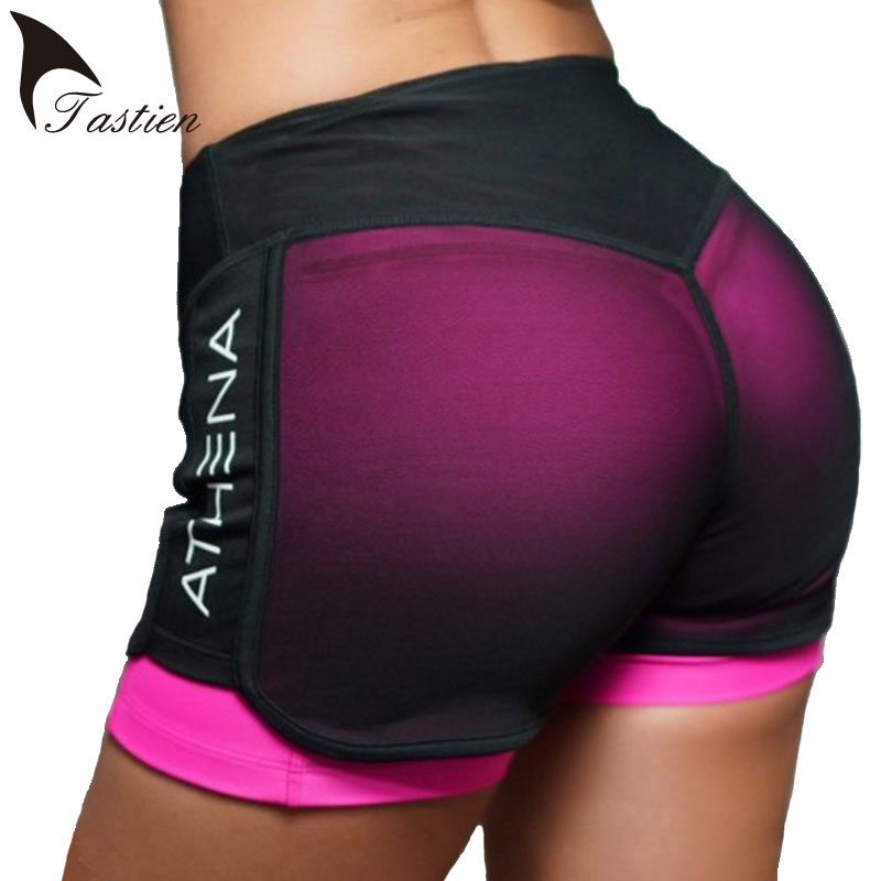 2019 New Womens Shorts Quick-Drying Compression Shorts ...