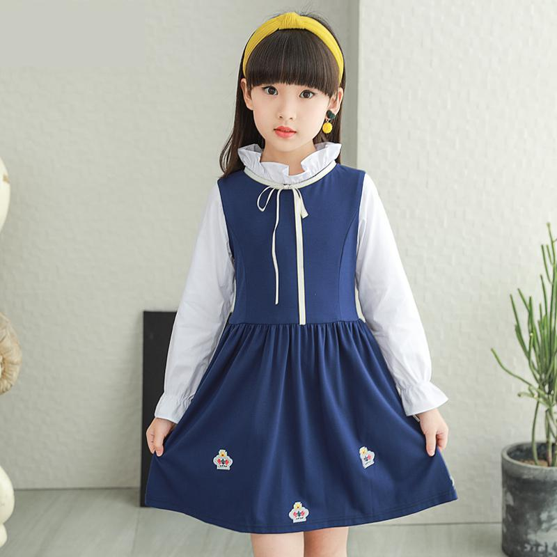 Baby Girls Dresses Autumn Long Sleeve Princess Dress Casual Costume Kids Clothes Toddler Vestidos Outwear Teenage Girls Costume