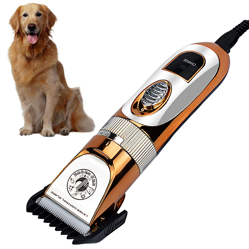 Electric Pet Dog Trimmer Professional Hair Clipper for dog Rechargeable Cat Hair Cutters Dogs Haircut Machine Grooming trimmer 1pc hair remove epilator dog cat brush grooming tools detachable clipper attachment pet trimmer combs for cat pet supply furmins