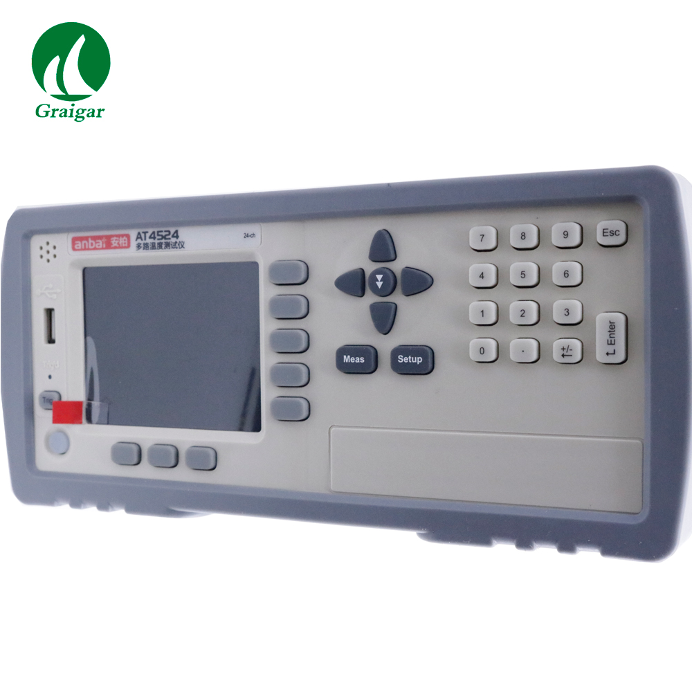 Высокое Pcision 24 канала термопары регистратор AT4524 тип термопары: J/K/T/E/S/N/B