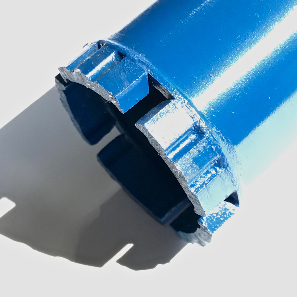 Free Shipping Of 32-127mm*150mm*M22 Connector Short Diamond Wet Drill Bits Core Bit For Hole Opening On Masonry/concrete Wall