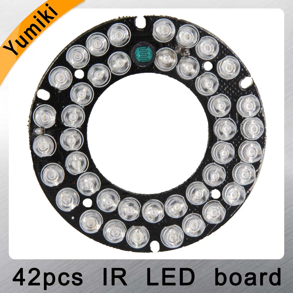 Yumiki Infrared 42pcs IR LED Board For CCTV Cameras Night Vision (diameter 60mm)