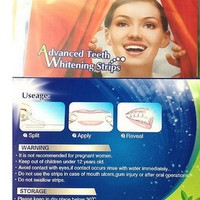 New Practical 28 PCS Professional Home Teeth Whitening pills Strips Tooth Bleaching Whiter Whiter strips WD2 Teeth Whitening