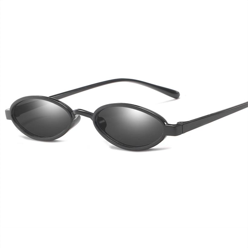 52c4c86da NYWOOH Small Oval Sunglasses Men Retro Brand Designer Round Sun Glasses  Female Male Tinny Eyewear Shades ...