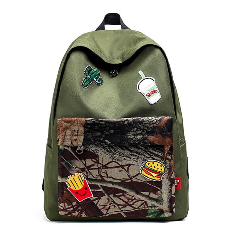 High Quality Women Teenage Girl Boy Zipper Backpack School Bags Fashion Shoulder Bag Fashion Women Travel Bakcpack Mochila