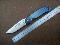 KESIWO RAT Folding Knife AUS 8 Blade Carbon Fiber Handle Utility Pocket Outdoor Camping Knives EDC