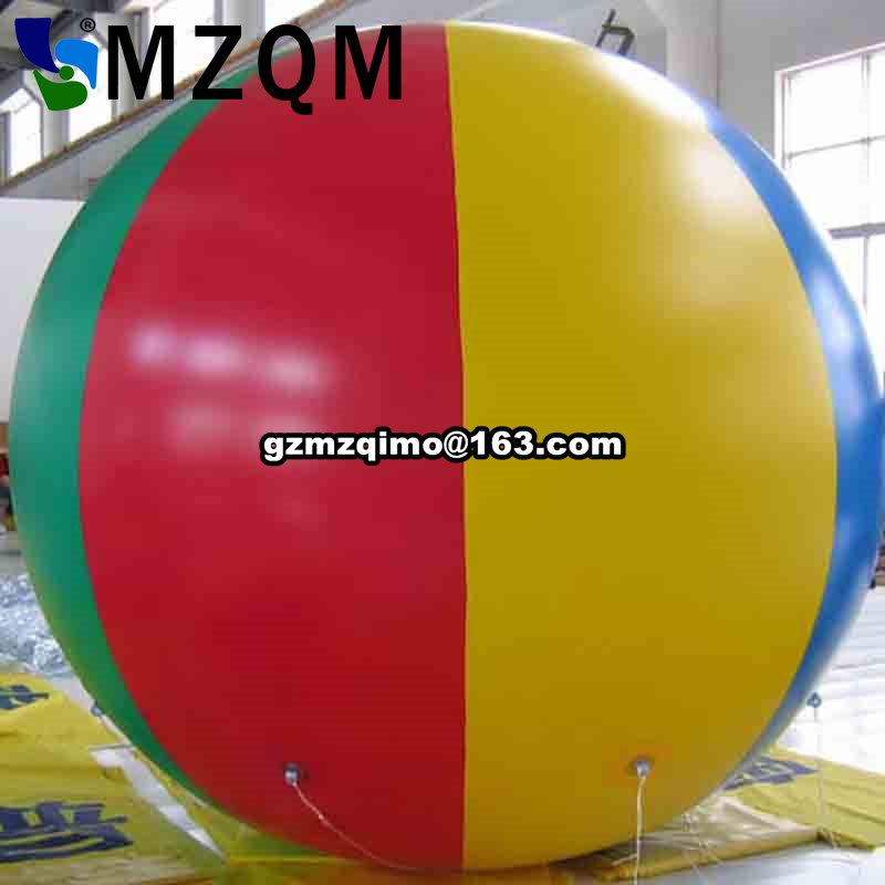 Diameter Inflatable Beach Ball Helium Balloon for Advertisement/FREE Shipping/Different colors for your selection