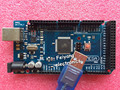 Freeshipping Mega 2560 R3 Mega2560 REV3 ATmega2560-16AU Board + USB Cable compatible for arduino Mega 2560 r3