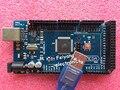 Freeshipping Mega 2560 R3 Mega2560 REV3 Atmega2560-16au + Cable USB compatible para arduino Mega 2560 r3