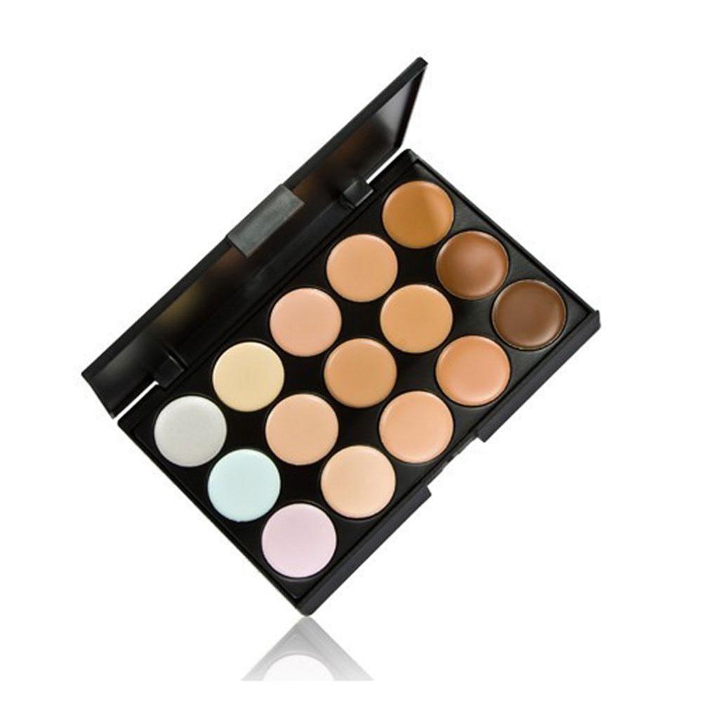15 Colores Contour Palette Face Cream Maquillaje Corrector Palette & - Maquillaje - foto 2