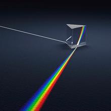 OMO Rainbow Maker 5cm Optical Glass Triangular Prism Science Experiment Physics Light Teaching Kids Educational Toy
