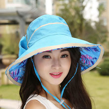 2018 Nuova Estate moda pieghevole grande bordo del cappello del sole delle  Donne UV cappelli Della Spiaggia per la femmina turis. 0b9d314fbe3f