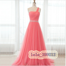free shipping 2013 New Long Chiffon Evening Prom Dress Formal Gown Party Ball Cocktail Dresses