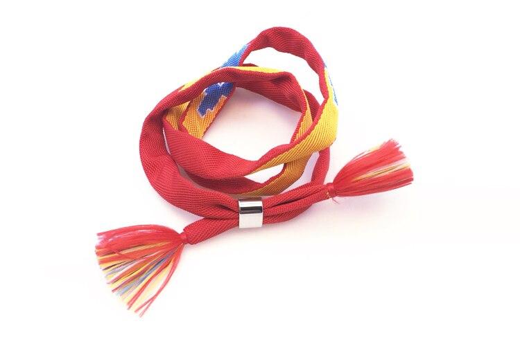 Aliexpress.com Acheter Vente chaude Votre Nom Bracelets Amateurs de Bijoux  Chaude Japon Amine Film Rouge Tissu Silicone Wrap Bracelets Bracelets Pour
