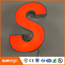 Рекламные логотипы пивных марок канал из нержавеющей стали буквенные обозначения