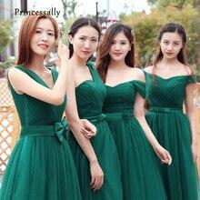 Vestido verde esmeralda boda