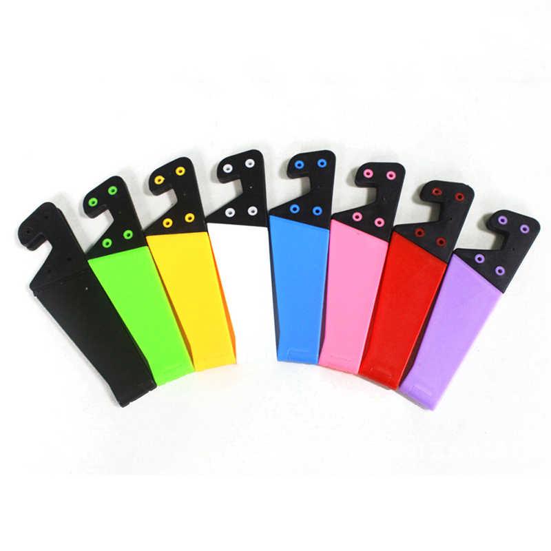 Fimilef uchwyt na telefon składany uchwyt na telefon komórkowy stojak na iphone'a X Tablet Samsung S10 regulowany uchwyt do smartfona