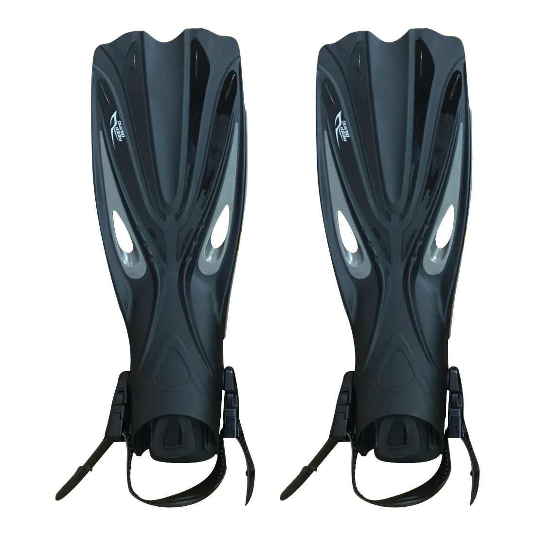 Süper satmak tutmak dalış açık topuk tüplü dalış uzun yüzgeçleri ayarlanabilir dalış yüzgeçleri palet için özel dalış botları ayakkabı gea