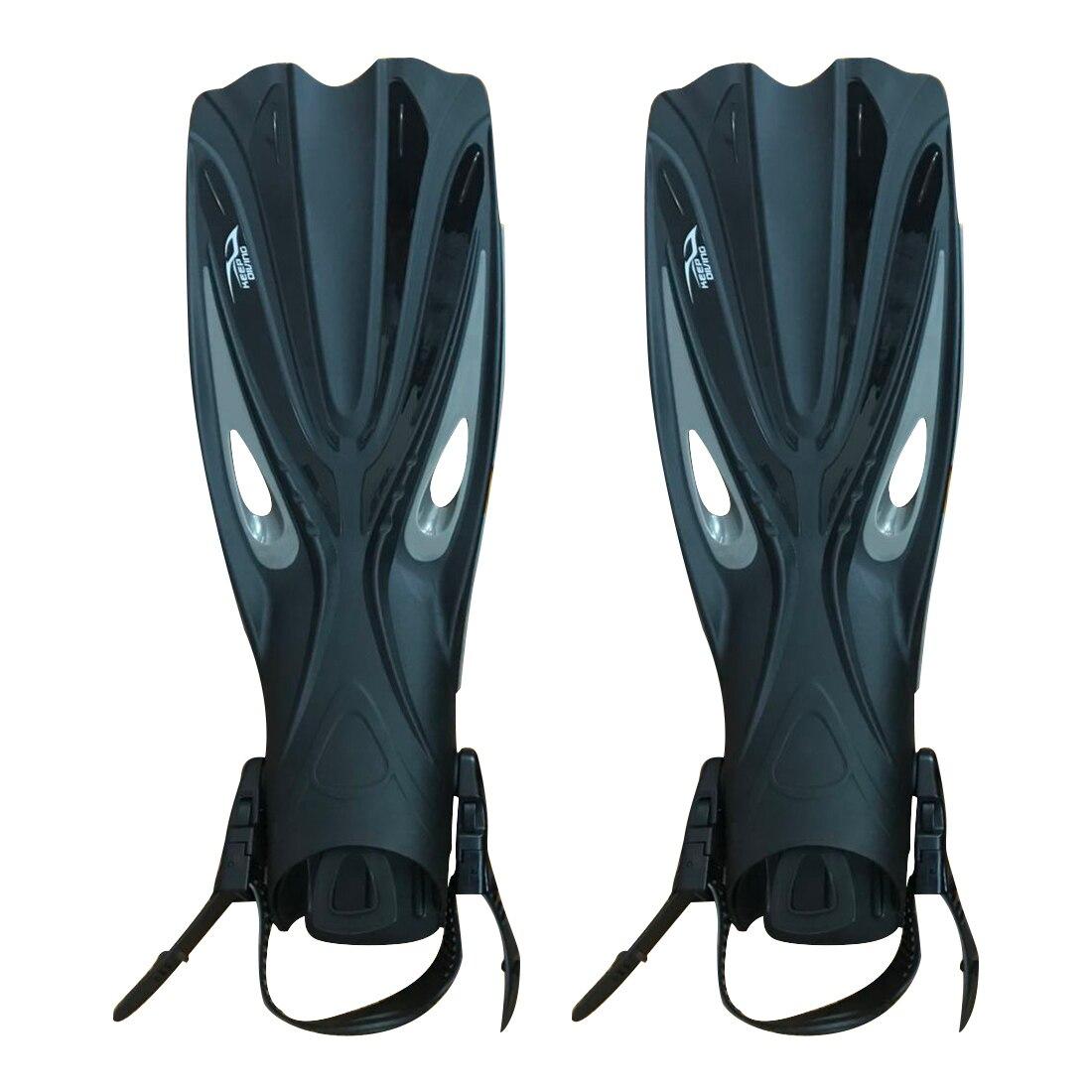 Super vendre-GARDER la PLONGÉE Ouvert Talon Plongée sous-marine Longues Nageoires Plongée En Apnée Réglable nageoires Spécial Pour la Plongée Bottes Chaussures Gea
