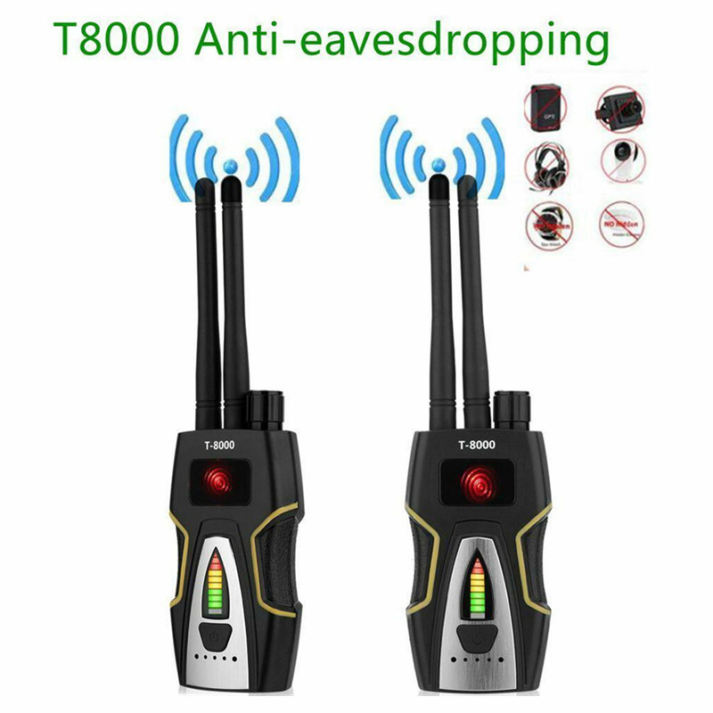 For K18 Bug Anti-spy Detector Camera RF Signal GSM Audio Bug Finder GPS Scan