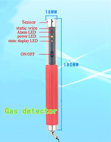 XINTEST Portable natural gas detector gas analyzer methane propane butane combustible gas indicator gas Leak Detector