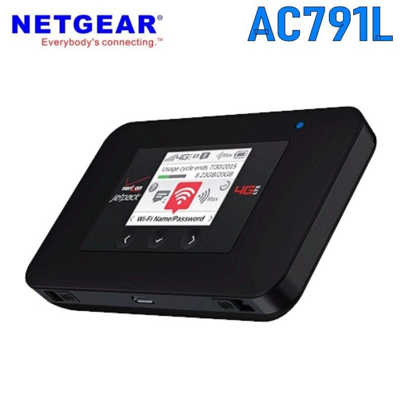 VERIZON WIRELESS NETGEAR AC791L WiFi JETPACK 4G LTE HOTSPOT MOBILE MODEM