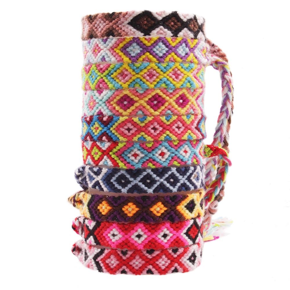 2019 Mode Totem Pole Freundschaft Armband Böhmischen Brasilianische Sommer Handcrafted Gewinde Macrame Armband Für Frau Pulseira Feminina Hombre