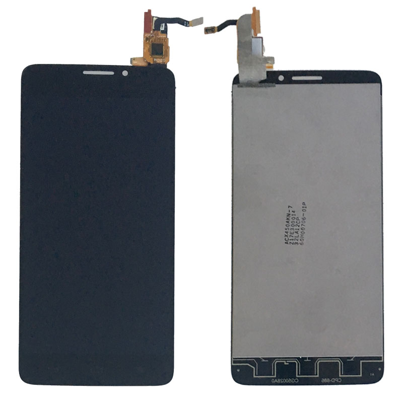 LCD Display Touch Screen Digitizer Glass Assembly For Alcatel One Touch Idol X 6040 6040A 6040D 6040X