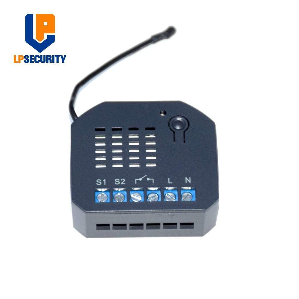 MCOHOME  Z Wave Plus enabled Micro ON/OFF Switch MH S220 support  high load-in Building Automation from Security & Protection