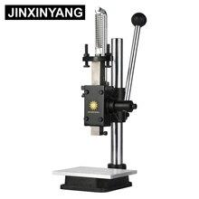 JINXINYANG штамповочная машина для кожи ручной штамповочный станок бесшумный штамповочный Ручной пресс