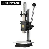 Punzonadora JINXINYANG  máquina de estampado Manual de cuero  máquina de troquelado Manual  punzonadora silenciosa  prensa Manual|Máquina de perforación| |  -