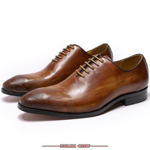 HANDMADE MEN LEATHER SHOES LACE UP POINTED TOE LUXURY BROWN OFFICE BUSINESS WORK FORMAL MEN SHOES LEATHER OXFORD SHOES MEN goodyear handmade shoes men s formal wear business shoes leather men s shoes leather was settled