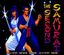 The Second Samurai Game Cartridge 16 bit Game Card For Sega Mega Drive / Genesis
