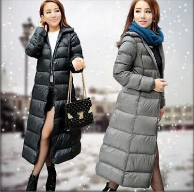 Hot 2014 Womens Elegant Full Length Down Coat Puffer Jacket Outwear ... 56cd16acb2