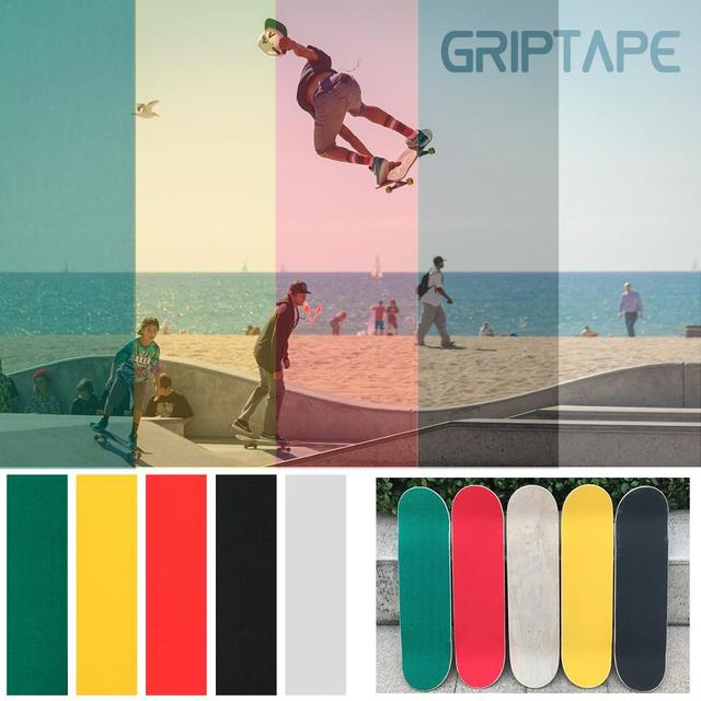 84*23cm Wear-Resistant Thickening Skateboard 4 Wheel Sandpaper Griptape Large Deck Sandpaper Griptape For Skateboarding