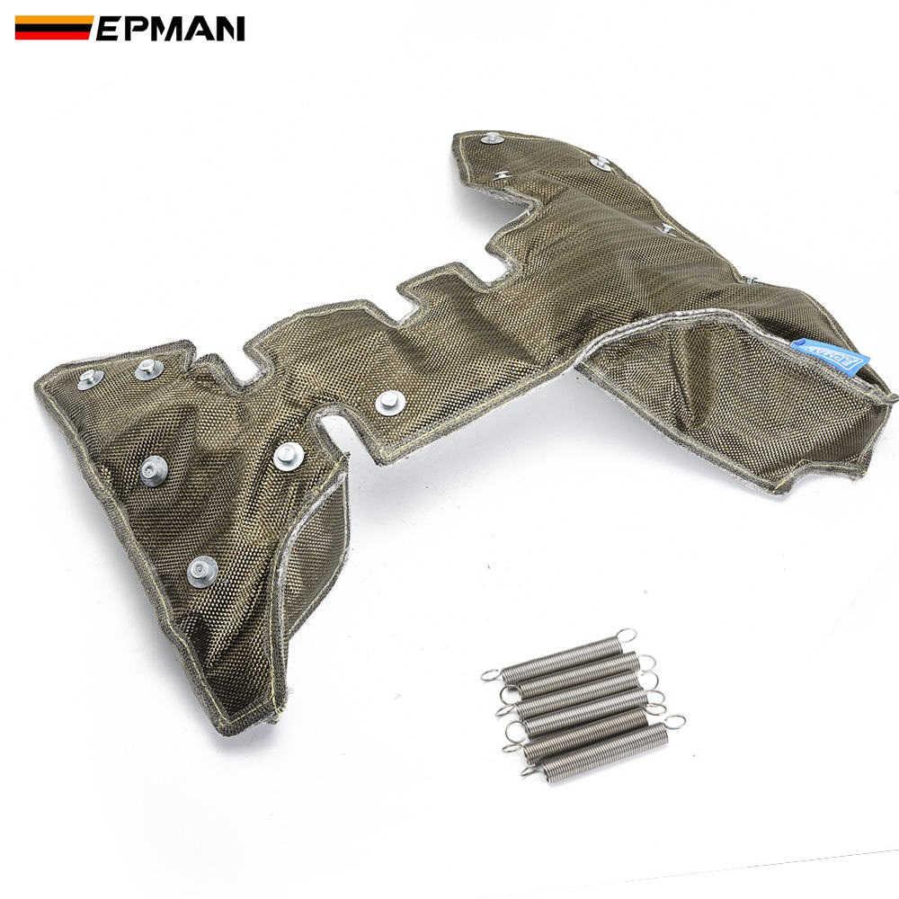 EPMAN Racing Titanium K04 Turbo Blanket Heat Shield Barrier Temp Rating For VW K03 / K04 TURBO Turbo Charger EPTBTK04TI