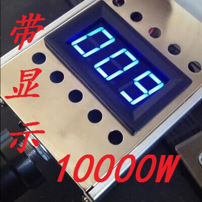 220V Voltage Regulator 10000W High Power Thyristor Governor Fan Dimming Temperature Regulating Speed Switch