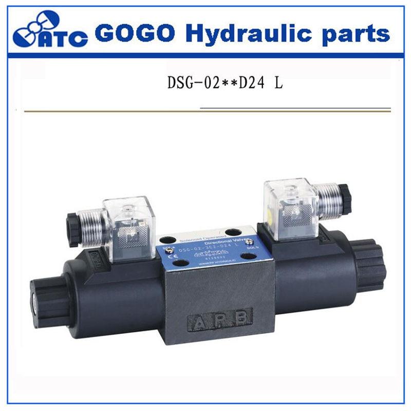 Double coils DSG series hydraulic Directional control valve DSG02