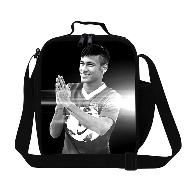 Best Neymar lunch bags for teenager boys insulated lunch cooler bag for men office,fashion meal bag lunch container for children