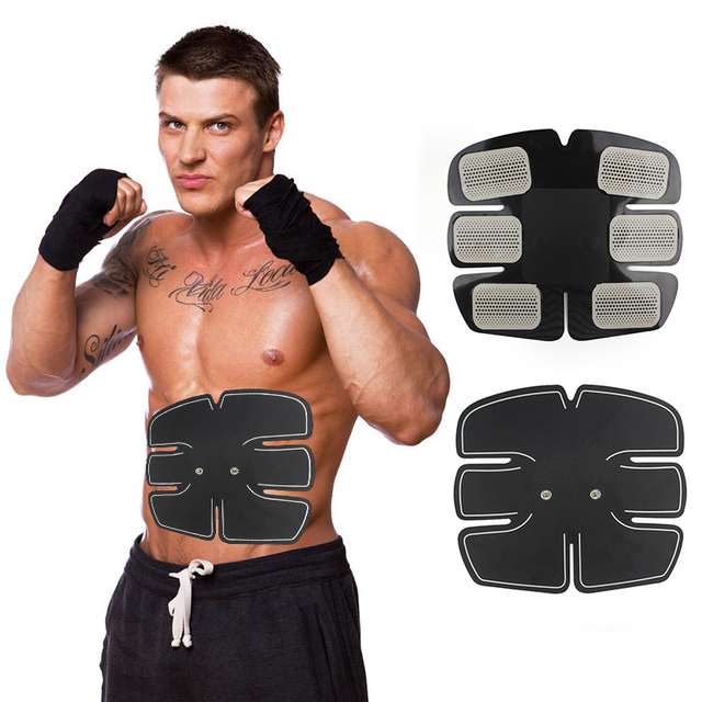 Brand 1*EMS Abdominal Exerciser Device Abdominal Muscle Intensive Training GearAb Training Fitness Body Exercise Free shipping!