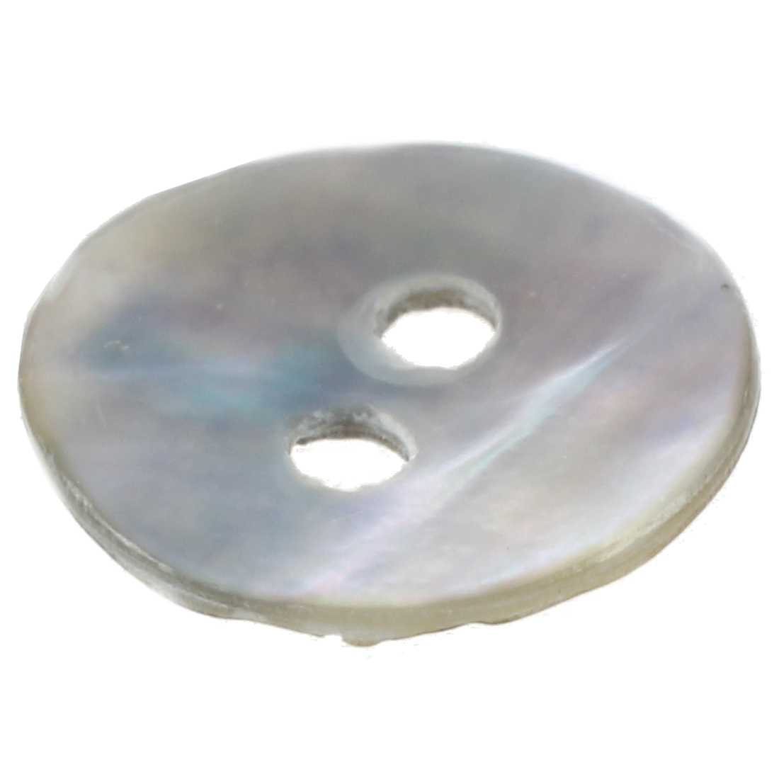 100 x 10 mm Pearl Mussels Round Buttons