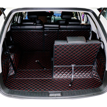 lsrtw2017 car styling fiber leather car trunk mat for byd s6 2011 2012 2013 2014 2015 2016 2017