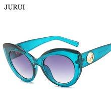 2d16a8d2a 2019 الأزياء القط العين إطار النظارات الشمسية النساء الفاخرة العلامة  التجارية مصمم جديد السيدات صغيرة خمر مثير الرجعية رخيصة بال.