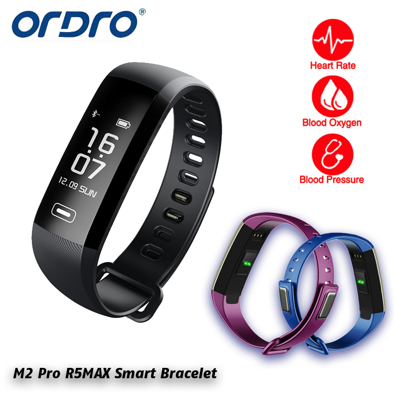 imágenes para M2 Pro R5MAX Inteligente Reloj Pulsera banda inteligente 50 palabra visualización de la Información de la presión arterial, heart rate monitor de oxígeno de La Sangre